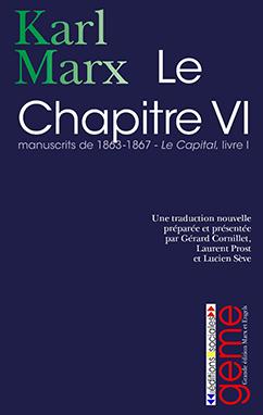 Le chapitre VI. Manuscrits de 1863-1867.