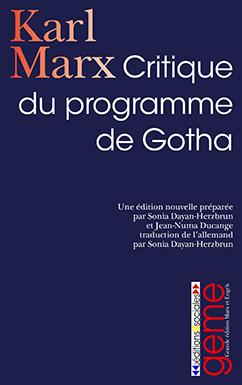 Critique du programme de Gotha